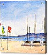 Port De Pollenca 02 Acrylic Print