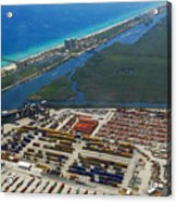 Port Everglades Florida Acrylic Print