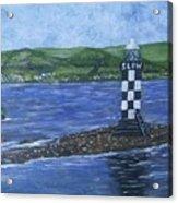 Port Glasgow, Perch Lighthouse Acrylic Print