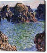 Port Goulphar Belle Ile Brittany Acrylic Print