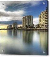 Port Melbourne Dreaming Acrylic Print