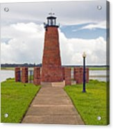 Port Of Kissimmee Lighthouse In Central Florida Acrylic Print