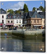 Port Of St Goustan In Brittany  France Acrylic Print