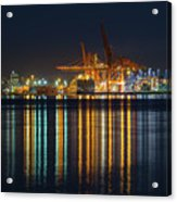 Port Of Vancouver In British Columbia Canada Acrylic Print