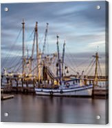 Port Royal Shrimp Boats Acrylic Print
