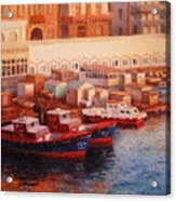 Port Said At Dawn Acrylic Print