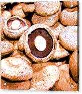 Portabello Mushrooms Acrylic Print