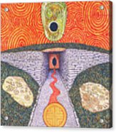 Portal Of The Celtic Goddess Acrylic Print
