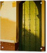 Porte Verte Acrylic Print