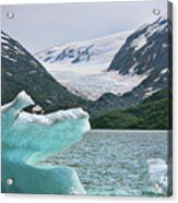 Porter Glacier Alaska  Acrylic Print