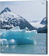 Porter Glacier Alaska II Acrylic Print