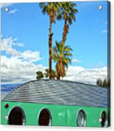 Portholes Palm Springs Acrylic Print