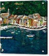 Portifino Italy Acrylic Print