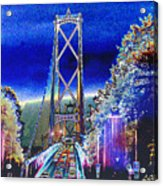 Portland Bridge Acrylic Print