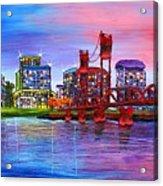 Portland City Lights #106 Acrylic Print