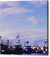 Portland Harbor Panaramic Acrylic Print