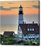 Portland Head Lighthouse At Daybreak 2 Acrylic Print