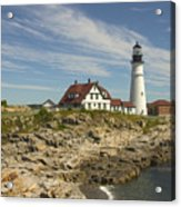 Portland Head Lighthouse Acrylic Print by Mike McGlothlen