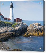 Portland Head Lighthouse Portland Me Acrylic Print