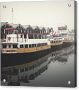 Portland Morning Fog Acrylic Print