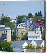 Portland Rooftops Acrylic Print