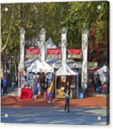 Portland Saturday Market Acrylic Print