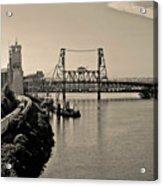 Portland Steel Bridge Acrylic Print