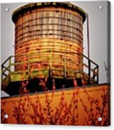 Portland Water Tower IIi Acrylic Print
