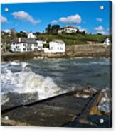 Portmellon In Winter Acrylic Print
