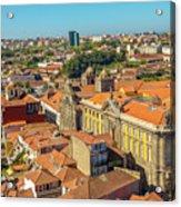Porto Skyline Portugal Acrylic Print