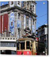 Porto Trolley 1 Acrylic Print