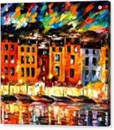 Portofino - Liguria Italy Acrylic Print