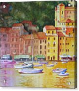 Portofino Afternoon Acrylic Print