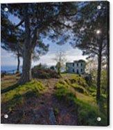 The House Of The Rising Sun In Portofino Acrylic Print