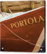 Portola Acrylic Print