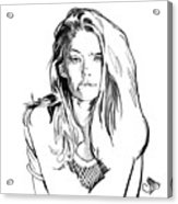 Portrait 4 Acrylic Print