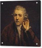 Portrait As A Deaf Man Acrylic Print