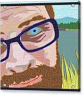 Portrait At Lake Junaluska Acrylic Print
