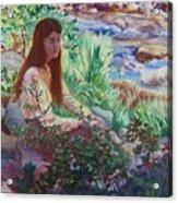 Portrait By The Stream Acrylic Print