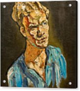 Portrait by Victor Herman 1968 Acrylic Print