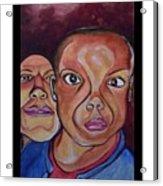Portrait Eul And Dhani Acrylic Print