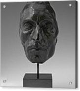 Portrait Mask Of Etienne Carjat Acrylic Print