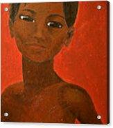 Portrait Of A Boy Acrylic Print