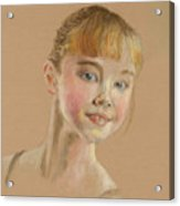 Portrait Of A Dancer Acrylic Print