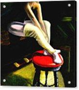 Portrait Of A Dancer Acrylic Print