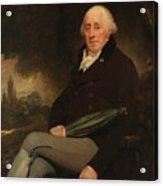 Portrait Of A Gentleman Beechey, William Acrylic Print