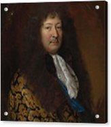 Portrait Of A Gentleman Acrylic Print