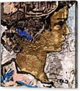 Portrait Of A Girl Pog2 Acrylic Print