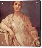 Portrait Of A Girl With Crown 1642 Acrylic Print