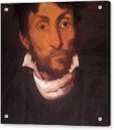 Portrait Of A Kleptomaniac 1822 Acrylic Print